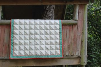 Katie and Millie Liberty Print Baby Quilt