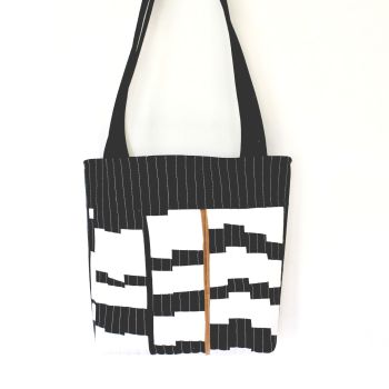 Jazzy Quilted Tote Bag(1)