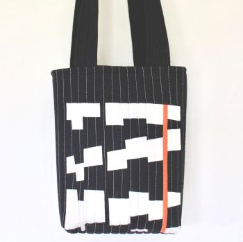 Jazzy Quilted Tote Bag(3)