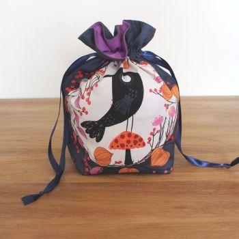 'Full Moon'  Halloween Drawstring Gift Bag(7)