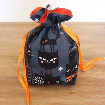 'Full Moon'  Halloween Drawstring Gift Bag(8)