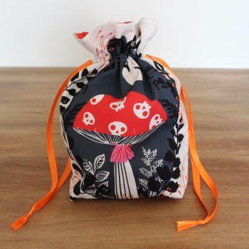 'Full Moon'  Halloween Drawstring Gift Bag(9)