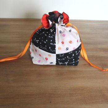'Full Moon'  Halloween Drawstring Gift Bag(11)