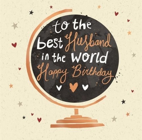 Birthday Cards for Husband - TO The BEST Husband - Husband BIRTHDAY Cards -