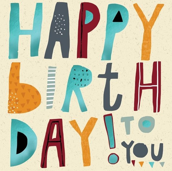 Birthday Card for Boy - HAPPY Birthday To YOU - Boy BIRTHDAY Cards - HAPPY
