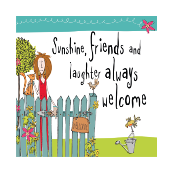 Birthday Card - SUNSHINE Friends & LAUGHTER - Birthday CARD For FRIEND - Special FRIEND Card - BIRTHDAY Greeting CARD for Neighbour - WORK Colleague