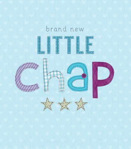 Little Chap - BRAND NEW Little Chap - CUTE New BABY Cards - NEW Baby BOY Ca