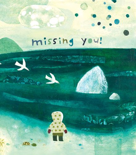 Miss You Greeting Card - MISSING YOU - Miss YOU Card For FRIENDS - Miss You