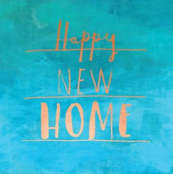 New Home Card - Happy New HOME - HOUSEWARMING Card - MOVING House CARD