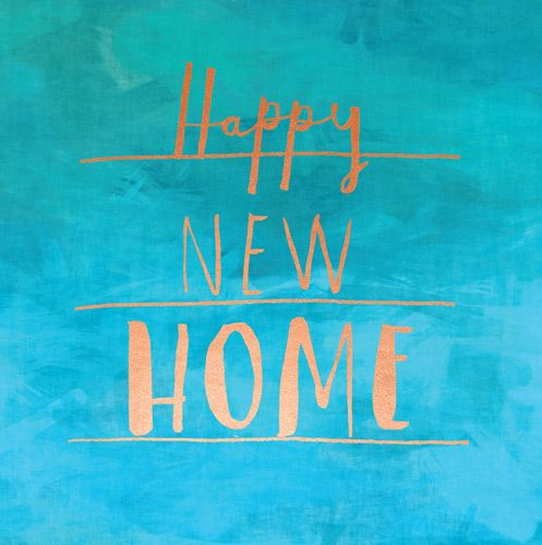 New Home Cards - Happy New HOME - HOUSEWARMING Card - MOVING House CARD - B