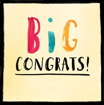 Congratulations Cards - BIG CONGRATS - Congrats CARD - Congratulations GREETING Card - EXAM Pass - NEW House - PREGNANCY - Engagement - WEDDING