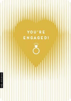 Engagement Card - YOU'RE ENGAGED - Luxury CARD