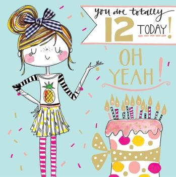 AGE RELATED BIRTHDAY CARDS 11 - 100 YEARS - Candy Kisses ...
