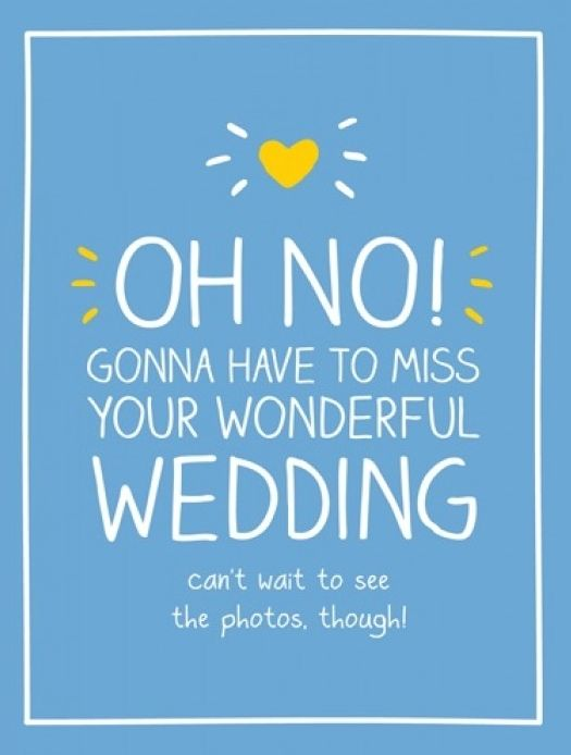 RSVP Wedding Regret Card - CAN'T Wait To SEE The PHOTOS - RSVP Decline & RE
