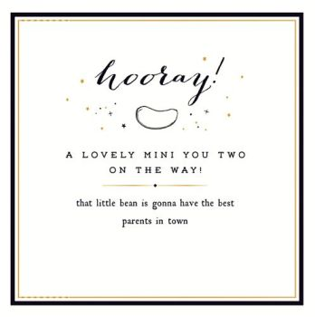 New Twins & Twin Birth Cards - A LOVELY Mini YOU Two - Cards For TWIN Baby - GREETING Cards For TWINS Birth - Unisex TWINS Card - FUNNY Twins CARD