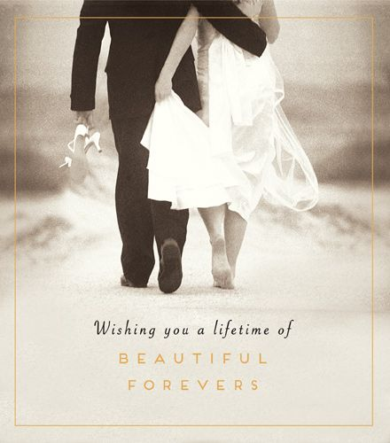 Wedding Cards - PHOTOGRAPHIC Wedding DAY Card - ROMANTIC Wedding DAY Card -