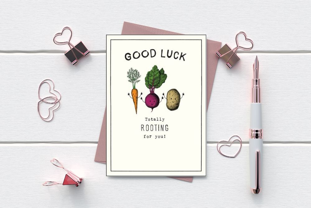 GOOD LUCK - DRIVING - EXAMS - GRADUATION CARDS