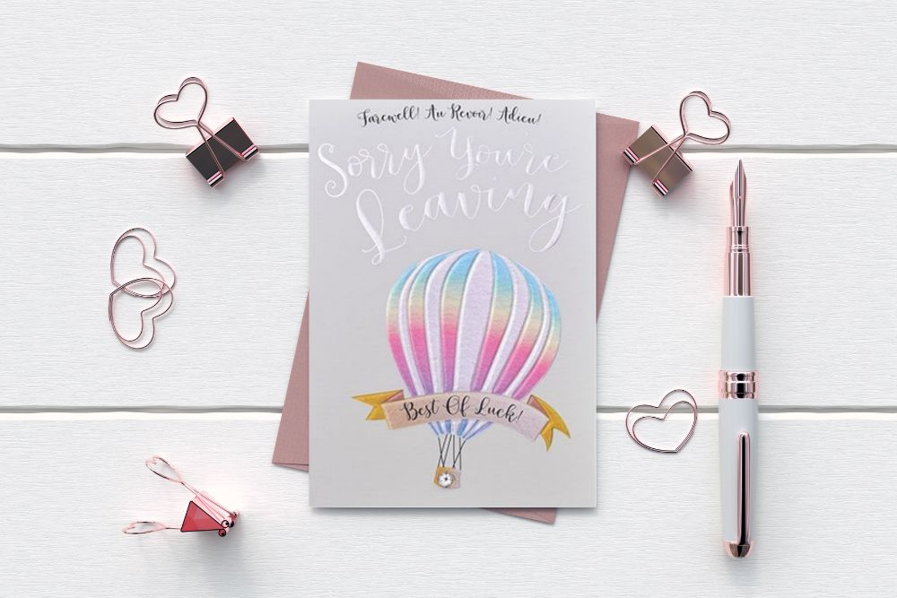 LEAVING - NEW JOB - RETIREMENT GREETING CARDS