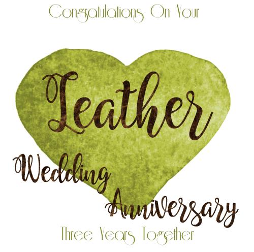 3year Wedding Anniversary.Handmade Anniversary Cards 3 Year Wedding Anniversary Leather Congratulations Wedding Anniversary Card Anniversary Cards For Husband