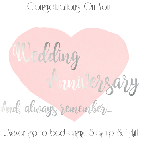 funny wedding anniversary card congratulations handmade