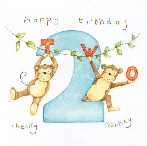 2nd Birthday Card Boy
