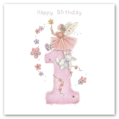 1st Birthday Card For Girl