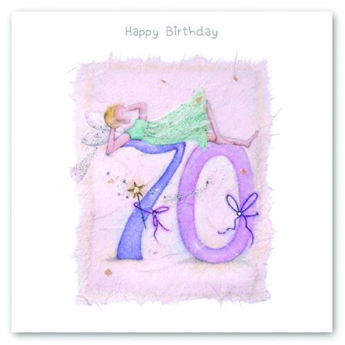 70th BIRTHDAY CARD For Her