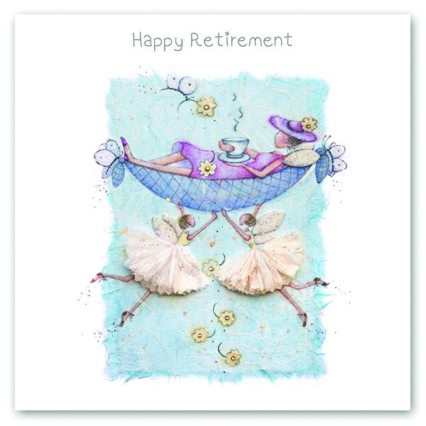 Retirement Cards - HAPPY Retirement - FAIRIES Card - HAPPY Retirement CARDS