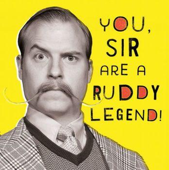 Funny Birthday cards - YOU SIR - Legend BIRTHDAY Cards - Birthday CARDS For Men - Birthday CARD For BROTHER - Son - GRANDAD - Friend