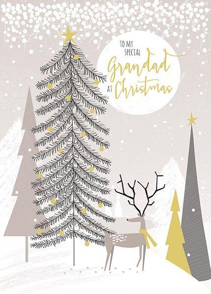 Grandad Christmas Cards - TO MY Special GRANDAD At CHRISTMAS - Special GRAN