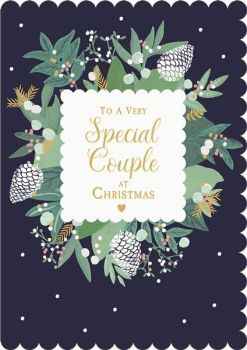 Couples Christmas Cards - To a VERY SPECIAL Couple At CHRISTMAS - CHRISTMAS Cards For COUPLES - Special COUPLE Christmas CARDS -  Special Family CARDS