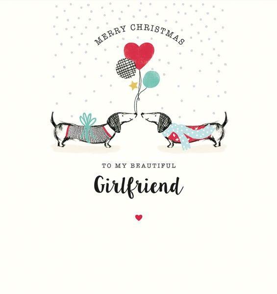Girlfriend Christmas Cards - To MY BEAUTIFUL Girlfriend - MERRY Christmas C
