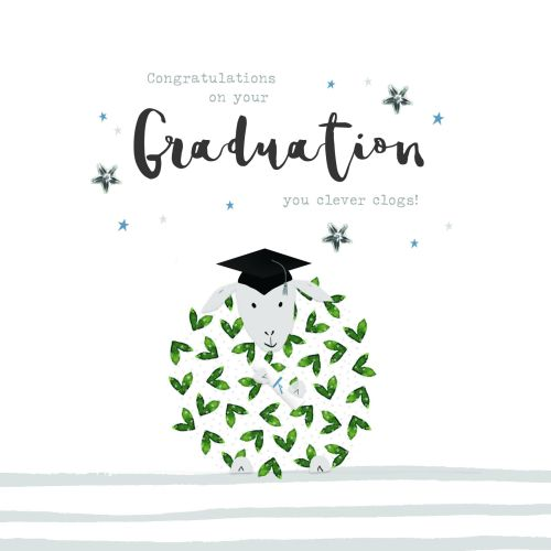 clever clogs graduation card congratulations on your graduation