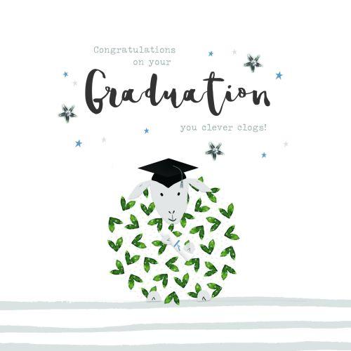 Graduation Cards - CLEVER Clogs - FUNNY GRADUATION Cards - CONGRATULATIONS