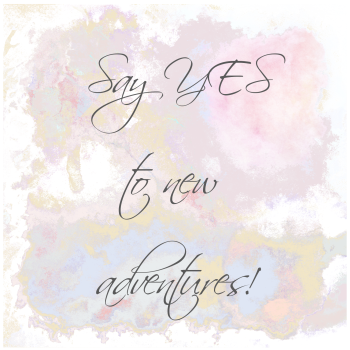 Birthday Card - BALLET Birthday CARD - HANDMADE Greeting CARD - Say YES To New ADVENTURES! - Inspirational Card - WATERCOLOUR Birthday CARD - Occasion