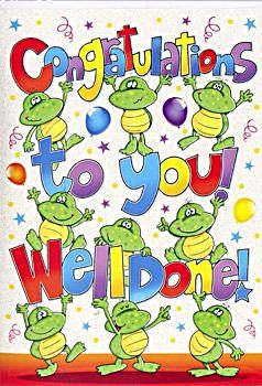 Congratulations Cards - WELL Done CARDS - Congratulations TO YOU - Congratulations CARD Baby - New JOB - NEW House - PREGNANCY
