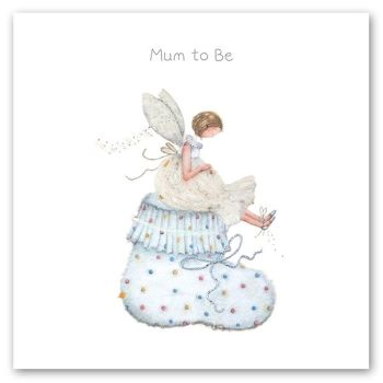 Mum To Be Greeting Card - MUM To BE - Pregnancy CONGRATULATIONS Cards - MUM To BE Card - BABY Shower Card - MUMMY To Be CARD - FAIRY Card