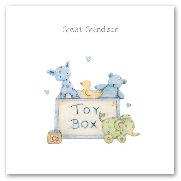 Great Grandson Birthday Card - GREAT Grandson - BIRTHDAY Cards For GREAT GR