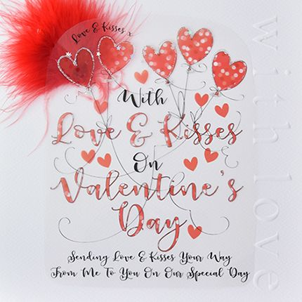 Valentine's Cards - FROM Me To YOU On Our SPECIAL Day - LARGE Valentine's C