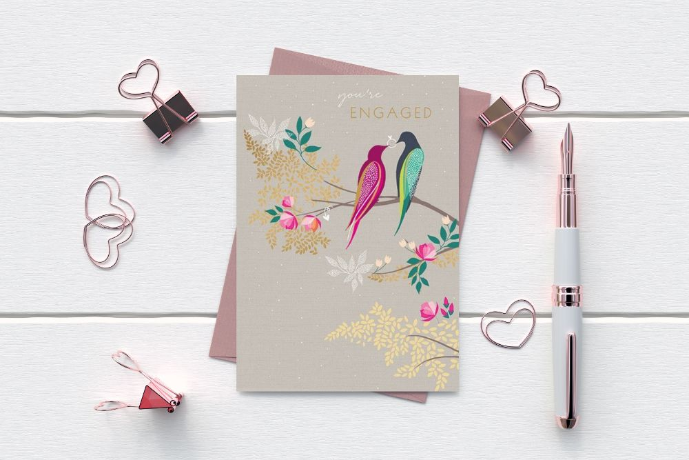 ENGAGEMENT GREETING CARDS