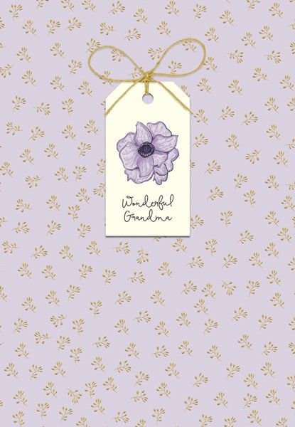 Wonderful Grandma - MOTHERS Day Card For GRANDMA - Mother's DAY Card WITH T