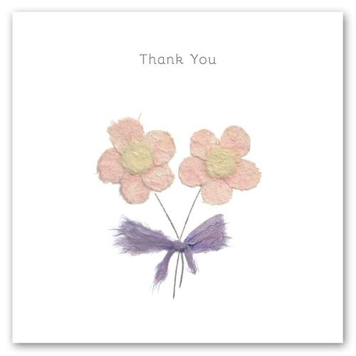 Thank You Cards - THANK You - FLORAL Thank You CARD - Thank YOU Greeting CA