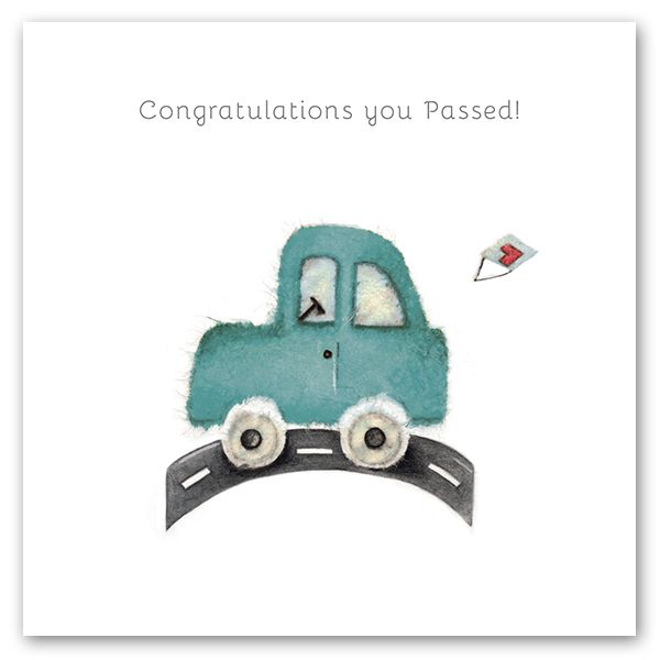 Passed Driving Test Congratulations Cards - CONGRATULATIONS YOU PASSED - Dr