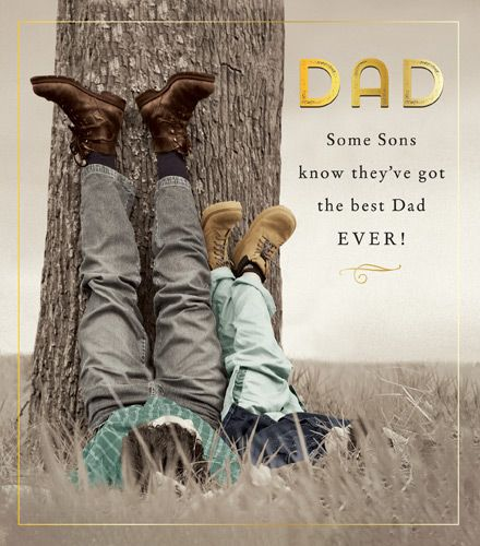 Dad Birthday Cards - SOME Sons KNOW - Dad BIRTHDAY Card From SON - Dad BIRT