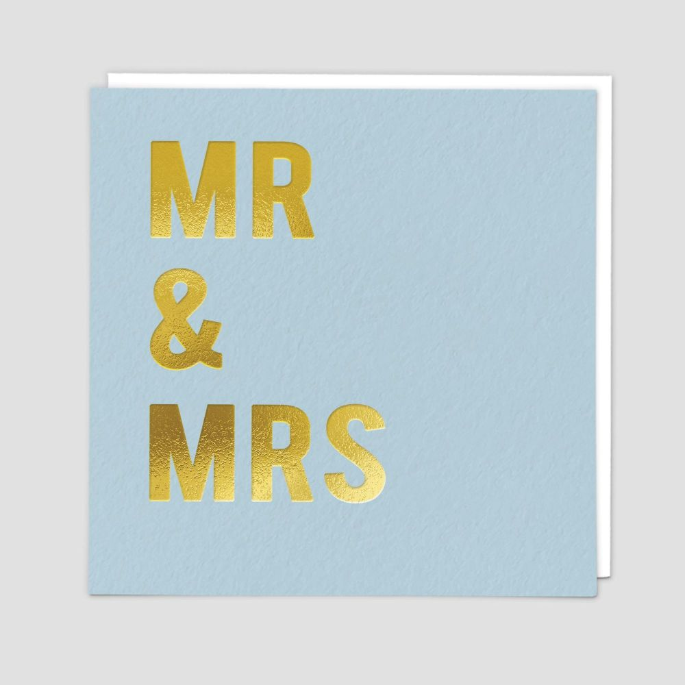 Mr & Mrs Card - MR & MRS - Mr & Mrs WEDDING Card - Wedding CARDS - Wedding