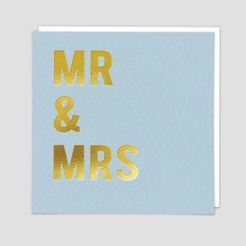 Mr & Mrs Card - MR & MRS - Mr & Mrs WEDDING Card - Wedding CARDS - Wedding GREETING Cards - Wedding DAY Cards