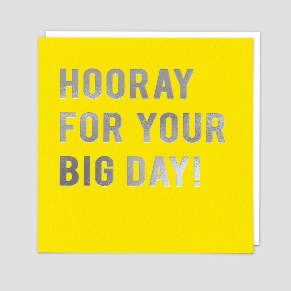 Wedding Day Cards - HOORAY For YOUR Big DAY - Wedding CARDS - Wedding DAY C
