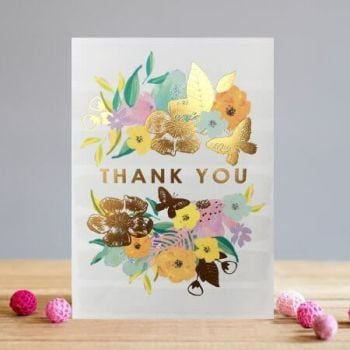 Thank You Cards - THANK YOU - Floral THANK You CARD - Blank THANK You CARDS - THANK You CARD Wedding - BABY Shower - BRIDAL Shower - FUNERAL