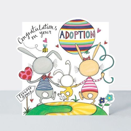 Adoption Cards - CONGRATULATIONS On Your ADOPTION - Congratulation CARDS Ad