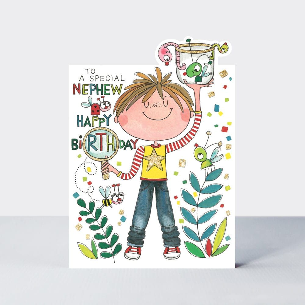 Birthday Cards For Nephew - SPECIAL Nephew BIRTHDAY Card - TO A Special NEP